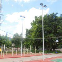 三亚广场篮球场照明灯杆 LED灯具 镀锌管灯柱杆批发