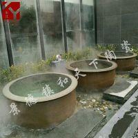 景德镇定制陶瓷泡澡大缸 洗浴大缸 洗浴中心专用陶瓷沐浴洗澡大缸