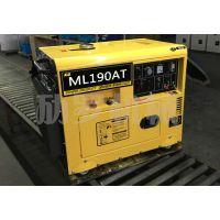 野外用190A柴油静音发电电焊机