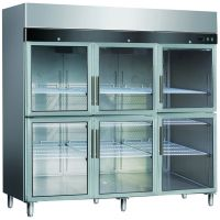 供应厨房使用的大四门保鲜展示柜_立式四门展示柜哪家比较好