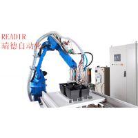 北京涂胶机器人 深隆STT1011 自动涂胶机 涂胶机器人 玻璃涂胶机器人 全自动玻璃涂胶生产线