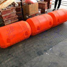 滚塑成型浮筒 通孔220mm塑料橙色警示浮筒