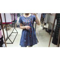 广州牛仔份货批发哪里有推荐富择锋份货女装时装