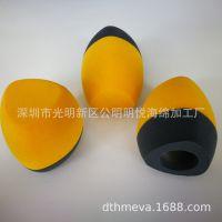 定制三边型海绵话筒防风罩/电视台海绵话筒套/麦克风防风罩厂家