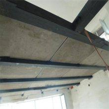 上海25mm加厚高强水泥纤维板复式钢结构夹层板厂家加了网格布