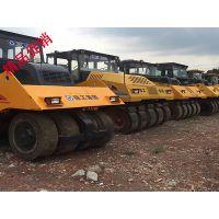 绵阳二手压路机交易市场|26吨胶轮压路机