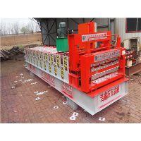 浩鑫机械圣诞节促销840-900型双层琉璃瓦机 下单及减