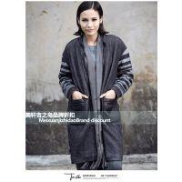 王宏外贸服装批发市场拓谷冬折扣女装加盟店