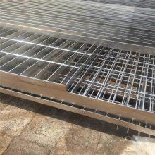 钢格栅平台 钢格栅板厂家 a3踏步板每米多重