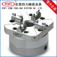 【上海EROWA定位夹具】80方型单头气动卡盘|CNC气动夹具