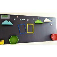 广州磁善家厂家出售专业教学培训家装黑板宝宝画板无钉免胶磁性PP膜黑板墙