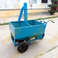 山西鲁辰电动喂料机的经销商 养殖用上料机多少钱