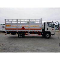 中国重汽5米1钢瓶车,氧气瓶运输车厂家,危险品运输车,易燃气体专用车