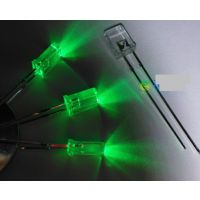 2*3*4纯绿光灯珠,方形绿灯led发光二极管,深圳陈氏质量的led厂家