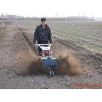 生姜开沟机视频 蔬菜种植培土机