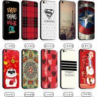 红米5plus浮雕手机壳时尚百搭磨砂手机软套厂家现货直销红米系列