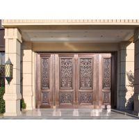 北京皇室工艺铸铜大门-铜升
