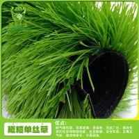 运动草菱形单丝人造草坪