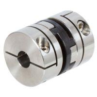 不锈钢带通孔扭力刚性联轴器HFD,进口联轴器胀套厂家