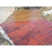 自贡市混凝土彩色压花地坪,压模地坪,彩色地坪艺术地坪