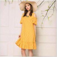 广州18年时尚女装慕希尾货 新款夏装折扣批发