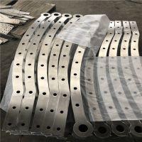 耀恒 泰州专业生产双板穿管式玻璃栈道栏杆不锈钢 玻璃栈桥护栏立柱