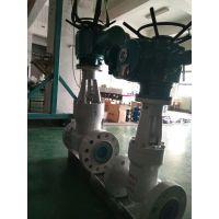 上海湖泉 铸钢法兰高压闸阀 高压电动闸阀 Z941H-200C DN250