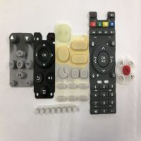 厂家直销硅胶按键遥控器导电硅胶开关键帽来图来样加工定制