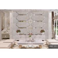 现代玻璃拼镜电视客厅书房餐厅背景墙 厂家直销
