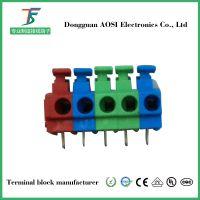 PCB线路板按压式弹簧式接线端子KF124B