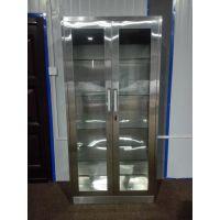 厂家直供来宝LB--BXGZDG简约不锈钢玻璃展示柜不锈钢中二斗