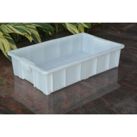 厂家直销珠海乔丰塑料周转箱面包箱食品箱67*41*15储蓄箱批发
