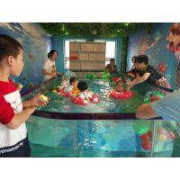 360度全定制钢化玻璃池