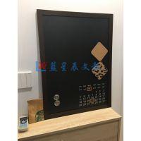 深圳大型推拉黑板M惠州磁性黑板挂式M清远原木质立式黑板