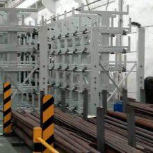 福建悬臂式货架简介 ZY041710 建材存储仓库图片 管材基地专用货架