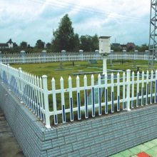 淮北草坪护栏厂家花园围栏pvc塑钢绿化带围栏