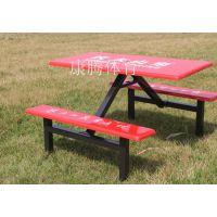 发往惠州4人位条凳餐桌椅 玻璃钢彩色圆凳餐桌 惠东百货食堂桌椅康腾体育免费安装