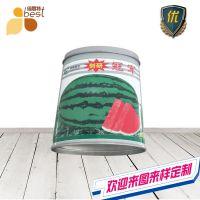 西瓜种子罐 椭圆形铁盒 农副产品包装盒定制