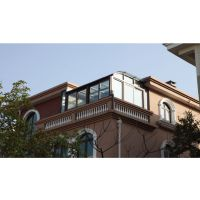 佛山高端阳光房 断桥铝合金德式门窗厂招商 钢化中空玻璃 伊美德门窗加盟