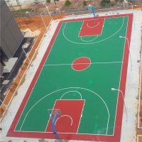 珠海社区篮球场材料批发 球场涂料漆中山有卖 篮球场画线多少钱一场
