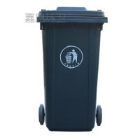 天水塑料垃圾桶_天水户外塑料垃圾桶加厚带轮