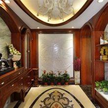 湘潭长沙定制原木家具品牌辉派、原木书柜门、酒柜定制细节处理