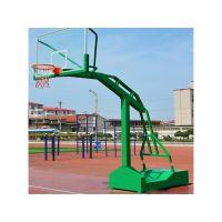 南宁市凹箱篮球架 钢化玻璃篮板 室外标准篮球架 飞跃体育