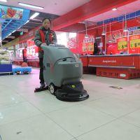 柳州洗地机厂家供应购物场所地面污渍尘渍洗刷使用洗地机