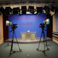 天影视通 隔音设计方案 专业搭建电视新闻联播谈话节目演播室装修