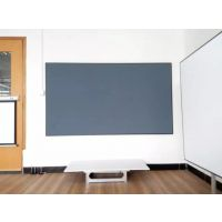 豪华型超窄边框(烤漆喷涂磨砂黑)黑晶抗光幕 家庭影院解决方案