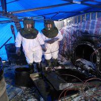 加油站和库区保洁的油罐清洗的专业施工方案