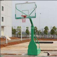 黄埔区可推动篮球架凹箱、仿液压透明板篮球架、球架安装流程