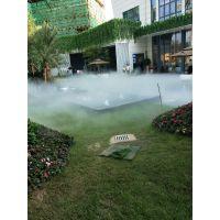 汕头清远梅州园林景观人造雾设备假山水池雾景雾森工程