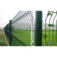 桃型柱护栏网 铁丝网护栏 绿化护栏网